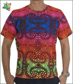 Rainbow Fractal T-shirt