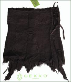 Layered Fairy wrap skirt brown