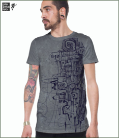 Blink T-shirt grunge grey