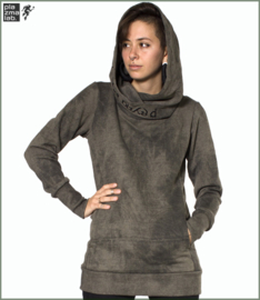 Lovely Reaper hoodie olive hydron