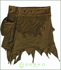 Pixie short wrap-skirt