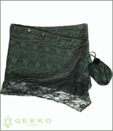 Crochet and Lace mini-skirt