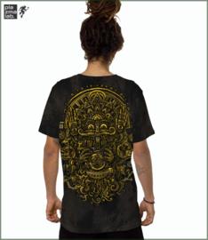 Magi T-shirt aqua black