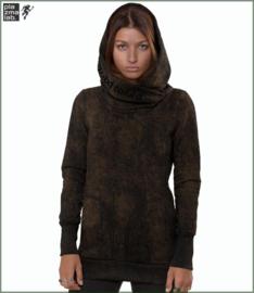 Lovely Reaper hoodie black rust