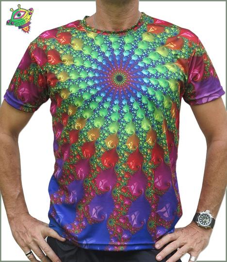 Spectral Fractal T-shirt