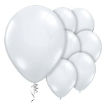 Transparant latex balloons (10pcs)