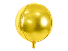 Orbz balloon gold (ea)