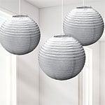 Lantern set silver (3pcs)