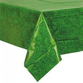 Tafelkleed plastic gras