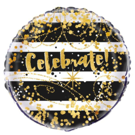 Foil balloon celebrate