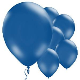 Balloons royal blue (10pcs)