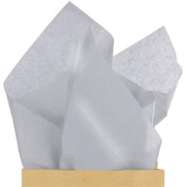 Tissue paper silver