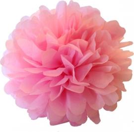 Pompom licht roze 35cm