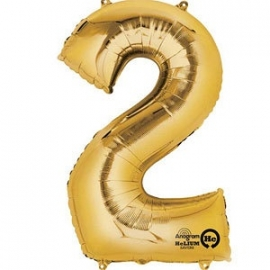 Golden foil balloon 2