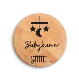 Houten hanger Stt babykamer mobiel