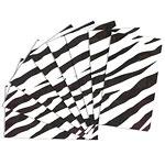 Zebra tissue papier