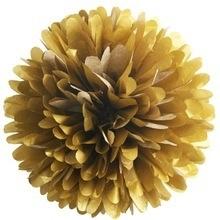 Pompom goud 25cm