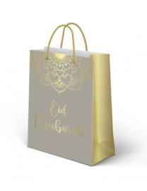 Giftbag Eid taupe gold (ea)