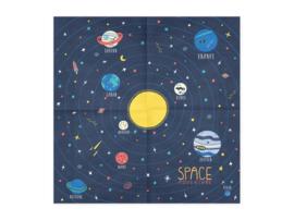 Servetten space party