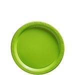 Papieren bordjes lime groen (8st)