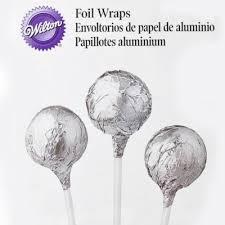 Foil wraps silver