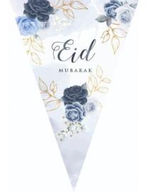 Slinger Eid peony blue