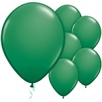 Balloons green (10pcs)