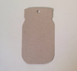 Mason jar tags (10pcs)