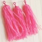 DIY Tassels roze (5st)