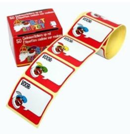 Sinterklaas gift labels (50pcs)