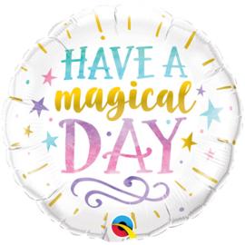 "Foil balloon magical day 18"""
