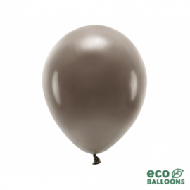 Ballonnen bruin mat (10st)