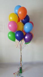 Latex ballonnen gevuld met helium + gel (pst)