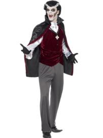 Vampire costume heren (Small)