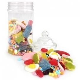 Snoepfles plastic (S)