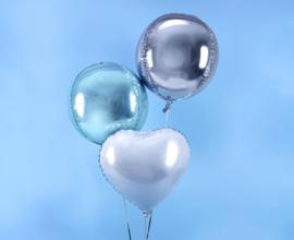 Orbz balloon baby blue (ea)