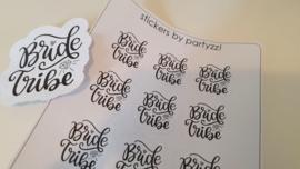 Stickervel Bride Tribe