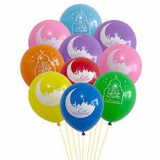 Eid Mubarak balloons (10psc)