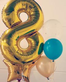 Helium voor XL cijferballon per stuk