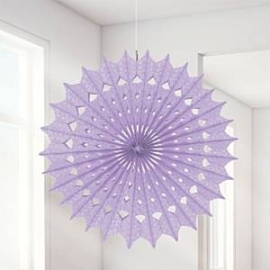 Damask fan lila