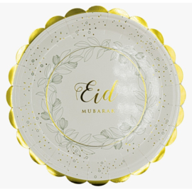 Paper plates Eid leaves (6pcs)