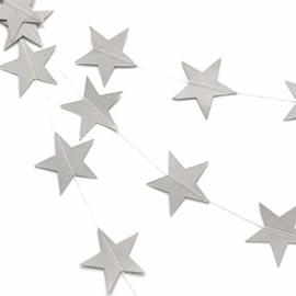 Slinger zilveren sterren