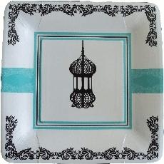 Paper plates lantern (10pcs)
