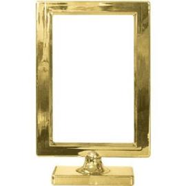 Foto frame op voet goud