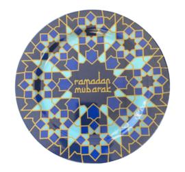 Melamine bord Ramadan mozaiek (pst)