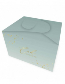 Snack box Eid mint green