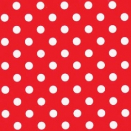 Wrapping paper red polkadots