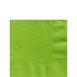 Paper beverage napkins lime (20pcs)