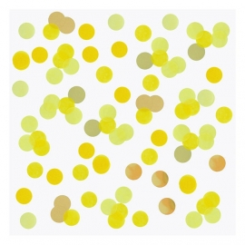 XL confetti yellow gold