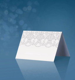 Satin place cards